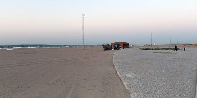 Karacabey sahilleri yılbaşına hazır