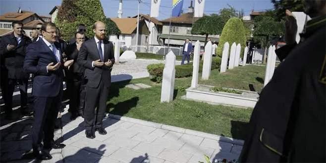 Hakan Çavuşoğlu Bosna Hersek'te