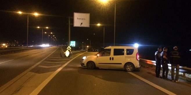 Bursa'da polis-şüpheli kovalamacası: 2 polis yaralı