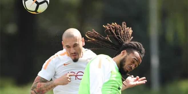 Galatasaray hücum çalıştı