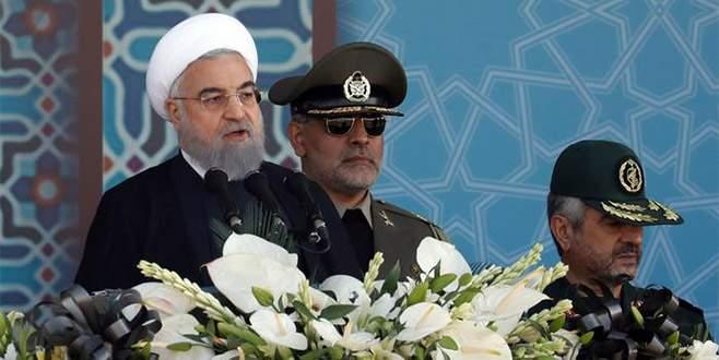 İran'dan ABD'ye füze resti