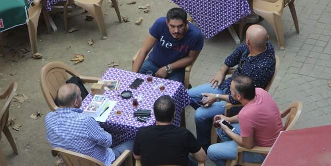 'Heart' tişörtü giydi, Bursa'da polisi alarma geçirdi