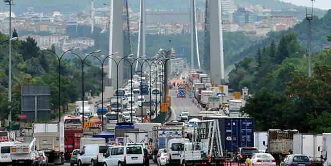 Köprü ve otoyoldan 8 ayda 964 milyon lira