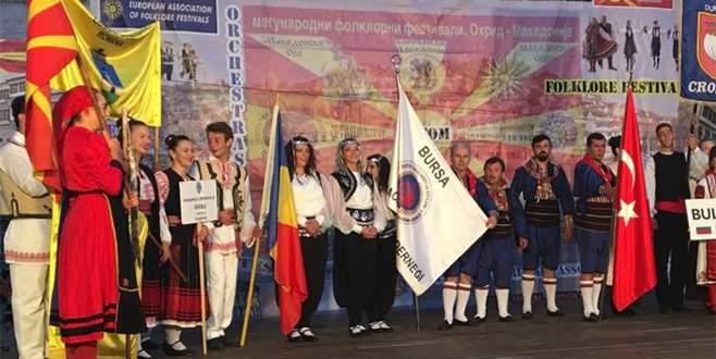 Makedonya'daki festivale 'Karacabey' damgası