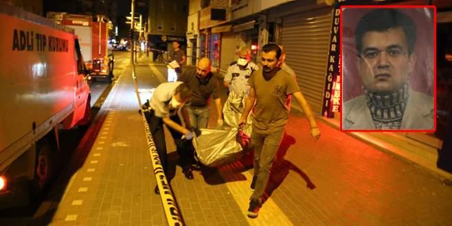 Bursa'da eski polis memuru yangından kaçamadı