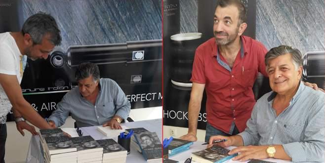 Yılmaz Vural Bursa'da kitabını tanıttı