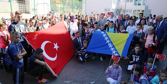 Nilüfer'den Bosna-Hersek'e eğitim köprüsü