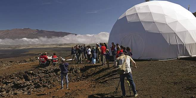 Mars'ta yaşam hazırlığı