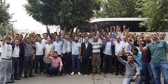 MHP Bursa'da moral kazandı
