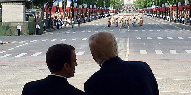Trump, 4 Temmuz'da askeri geçit yapacak