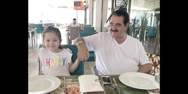 Kızıyla buluştu