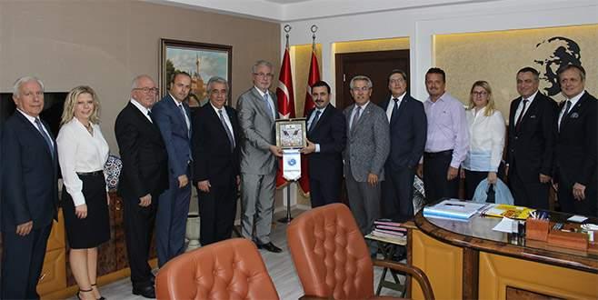 BALKANTÜRKSİAD'dan Bursa Cumhuriyet Başsavcısı'na ziyaret