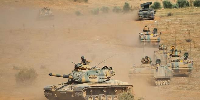 TSK, Habur Sınır Kapısı'nda askeri tatbikat başlattı