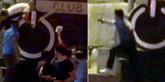 Suriyeliler sopalarla bastı, mekan sahibi silahla kovaladı!