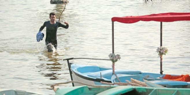 Murat Yıldırım Gölyazı'ya daldı