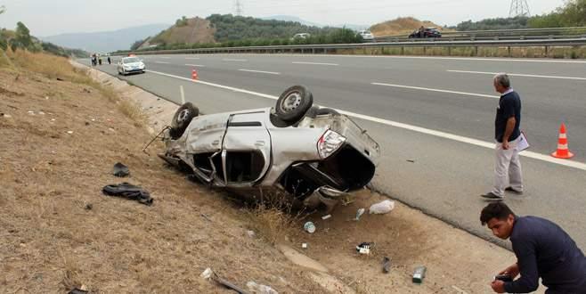 Çevre yolunda kaza: 1 ölü