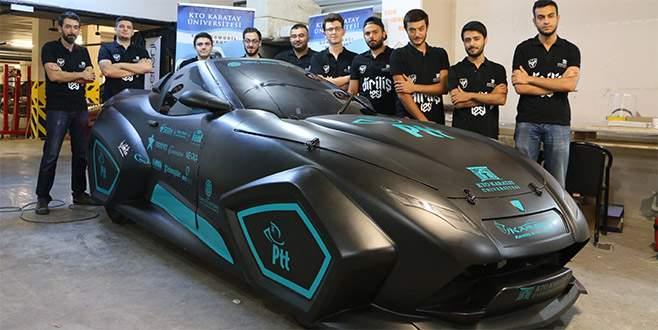 KTO Karatay Üniversitesi'nden yerli otomobil