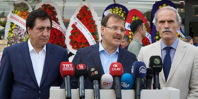 Çavuşoğlu: 'Sınır güvenliğinden taviz vermeyiz'