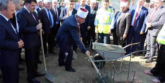 Üsküp'teki Tophane Merkez Camisi'nin temeli atıldı