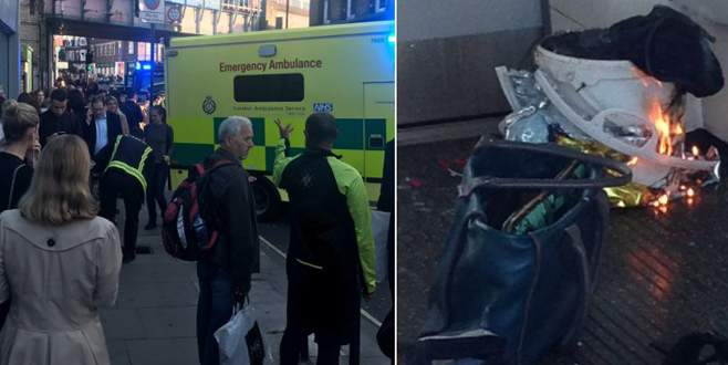 Londra metrosunda patlama! Yaralılar var…