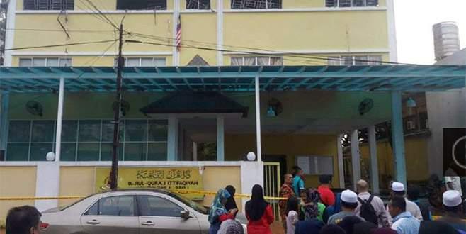 Kur'an okulunda yangın faciası