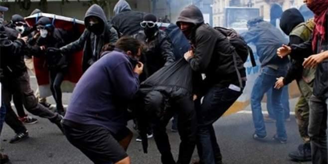Macron'a isyan