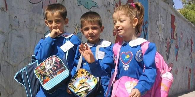 Onları da okul heyecanı sardı