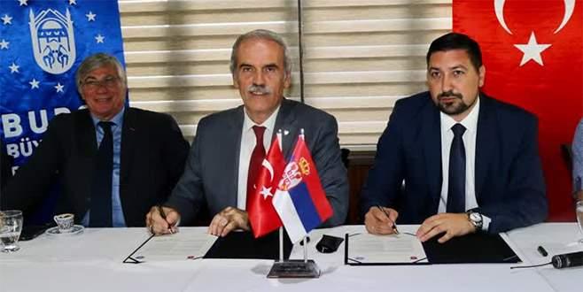 Büyükşehir Belediyesi'nden Sırbistan'a Osmanlı şehitliği