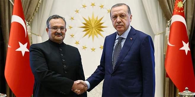 Erdoğan, 4 ülkenin büyükelçilerini kabul etti