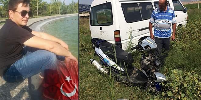 Bursa'da trafik kazası! Motosiklet sürücüsü hayatını kaybetti