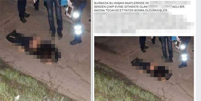 Bursa'da infiale sebep olan yalana soruşturma