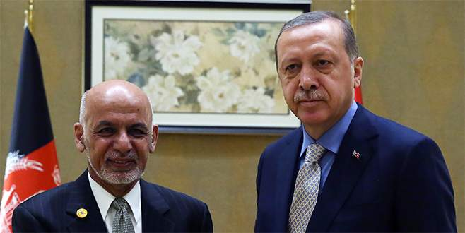 Cumhurbaşkanı Erdoğan, Gani ile görüştü