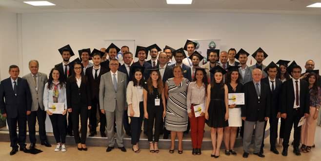 Ar-Ge Mühendisi adayları sertifikalarını aldı
