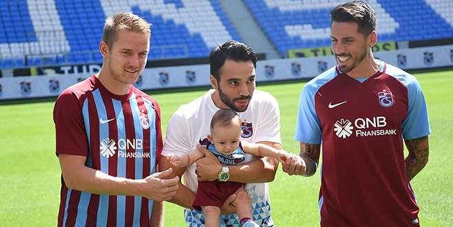 Trabzonspor yeni transferlerini tanıttı