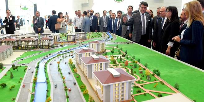 Ankara Emlak Fuarı'nın gözdesi Osmangazi oldu