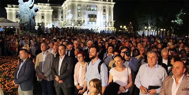 Makedonya'da Bağımsızlık Günü kutlandı