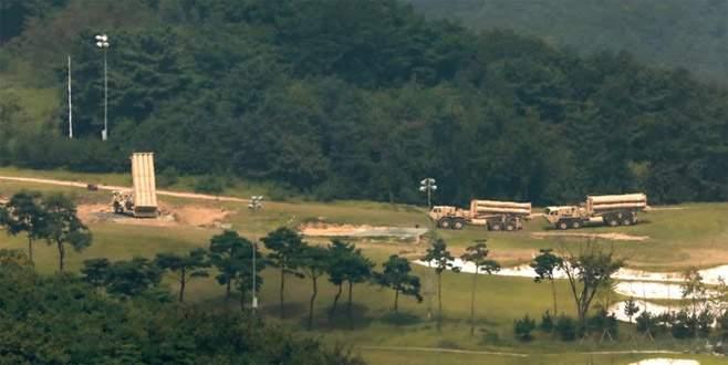ABD, Güney Kore'de THAAD kurulumunu tamamladı