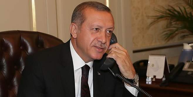 Erdoğan, Tacikistan Cumhurbaşkanı Rahman ile görüştü
