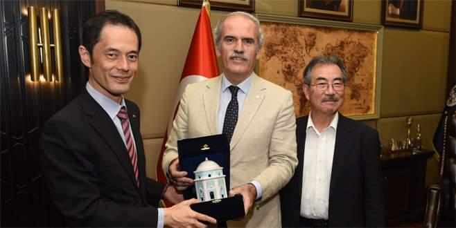 Bursa'da 'tarihi' buluşma