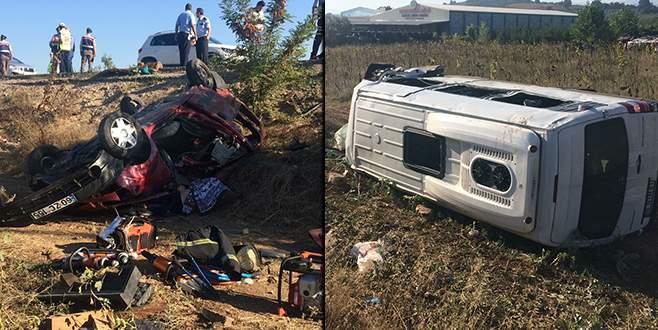 Bursa'da feci kaza: 1'i çocuk 7 kişi hayatını kaybetti