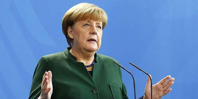 Merkel'den küstah Türkiye açıklaması