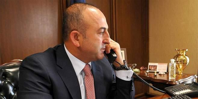 Çavuşoğlu'nun Arakan için telefon diplomasisi sürüyor