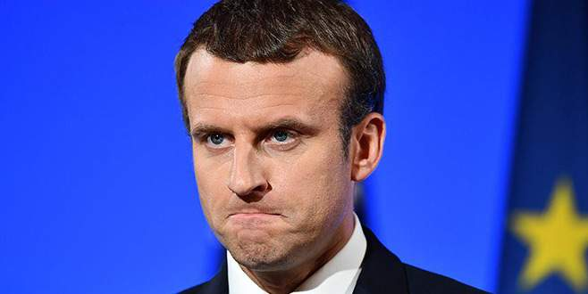 Macron'a destekte düşüş sürüyor