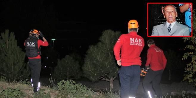 Bursa'da gece yarısı kayıp alarmı!