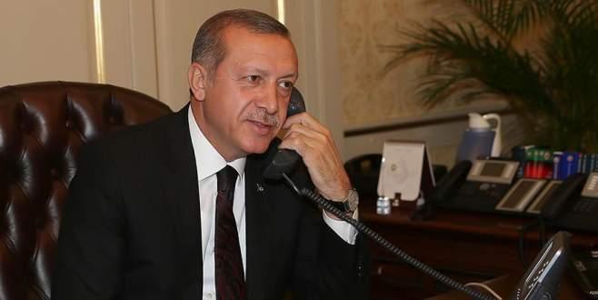 Cumhurbaşkanı Erdoğan'dan liderlere tebrik telefonu