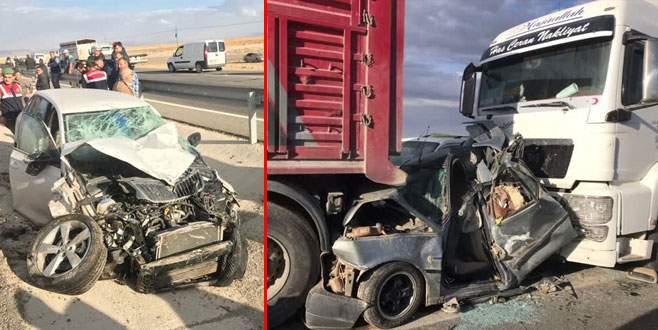 Korkunç kaza: 2 ölü, 18 yaralı