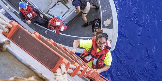 Pasifikte kaybolan iki kadın denizci 5 ay sonra bulundu