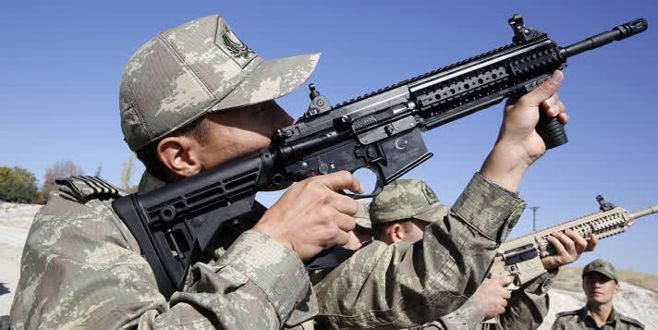 Milli tüfekler, teröristle mücadele operasyonlarında
