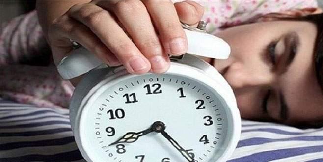 Uyku bozukluğu olanlar dikkat