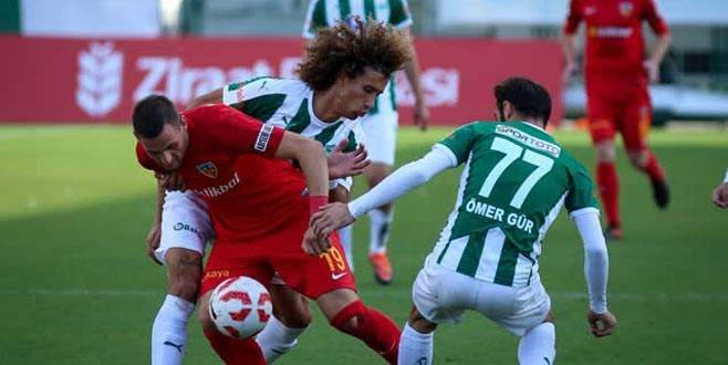 Yazık oldu Yeşil Bursa'ya: 1-2